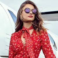 okulary przeciwsłoneczne damskie, Optyk Oczytanie Maria Skok, Jasło