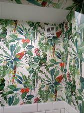motyw roślinny na ścianie, Design-Haus Sebastian Miareczka, Lublin