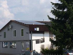 panele słoneczne dna dachu spadzistym, Orion. PPUH. Sacewicz L.K., Biała Podlaska