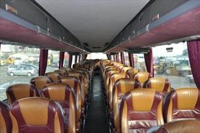 wnętrze autokaru, Impex-Trans Mariusz Besztak, Lublin