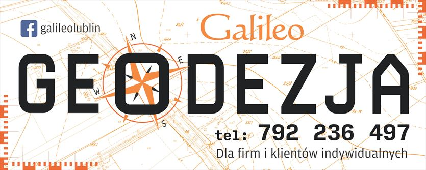 Kompleksowa obsługa geodezyjna, Artur Kocki Galileo Usługi Geodezyjno-Kartograficzne, Lublin