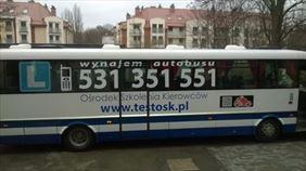 autobus, Ośrodek Szkolenia Kierowców Test Jarosław Bogusz, Olsztyn