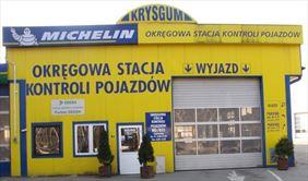 stacja kontroli pojazdów, Krysgum, Olsztyn