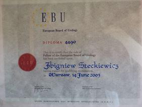 Międzynarodowy certyfikat Kierownika Centrum, Eskulap Lidzbarskie Centrum Medyczne, Lidzbark Warmiński