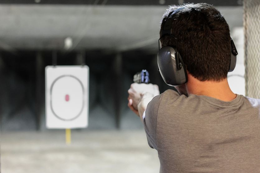Sprawdź swoją celność w naszej strzelnicy , Firma Szkoleniowo-usługowa almax Mariola Dzik, Olsztyn