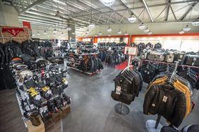 odzież skórzana dla motocyklistów, X-Moto Sklep & Outlet Motocyklowy, Karaś