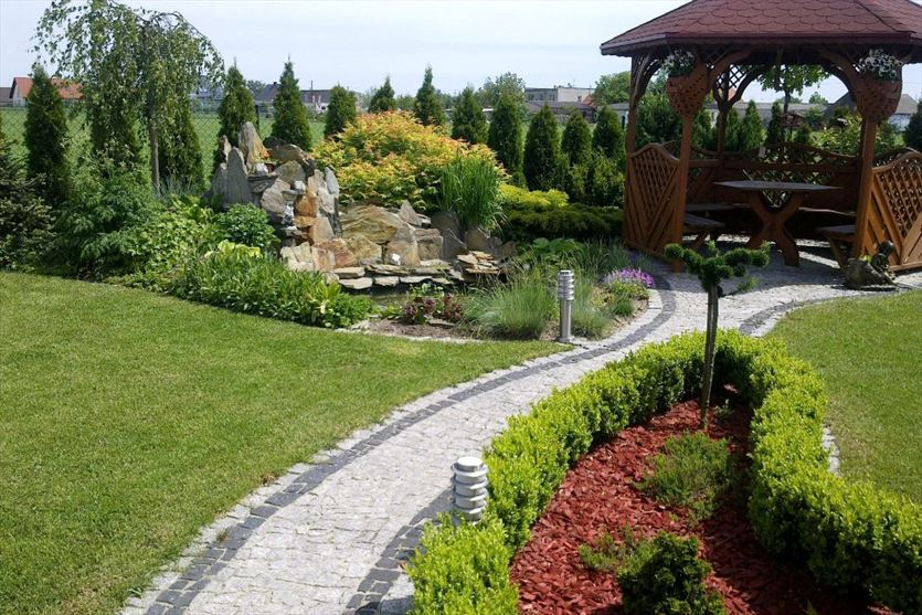 Zakładanie i pielęgnacja ogrodów, Zakładanie trawników i koszenie trawy w ogrodach, Włoszakowice