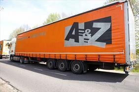 naczepa 24 t, A & Z Transport-Logistyka Sp. z o.o. Transport krajowy i międzynarodowy, Stęszew