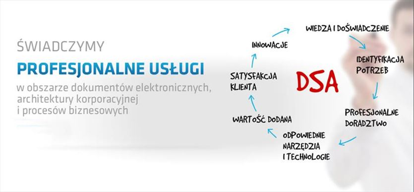Systemy skanowania i archiwizacji dokumentów, Dsa Polska Cyfrowe Systemy Archiwizacji Sp. z o.o., Janikowo
