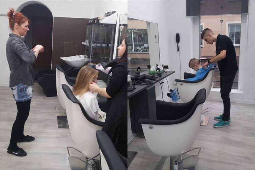 Fryzjerstwo to nasza pasja, Salon Fryzur Marcin Wilczek, Opalenica