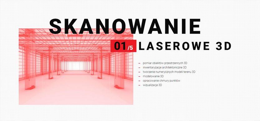 Skanowanie laserowe 3D, MARWO-GEO spółka z ograniczoną odpowiedzialnością spółka komandytowa, Poznań