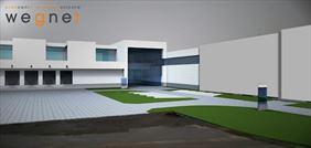 koncepcja rozbudowy fabryki projekt 2013, Karol Wegner Pracownia architektoniczna, Gniezno