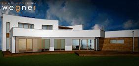 dom w standardzie budynku pasywnego, Karol Wegner Pracownia architektoniczna, Gniezno