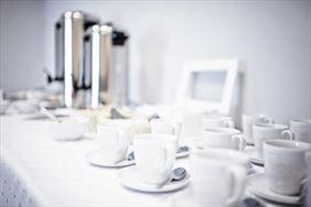 kącik kawowy, Don Prestige Residence, Poznań