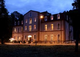 Muza nocą, Hotel Muza, Duszniki-Zdrój