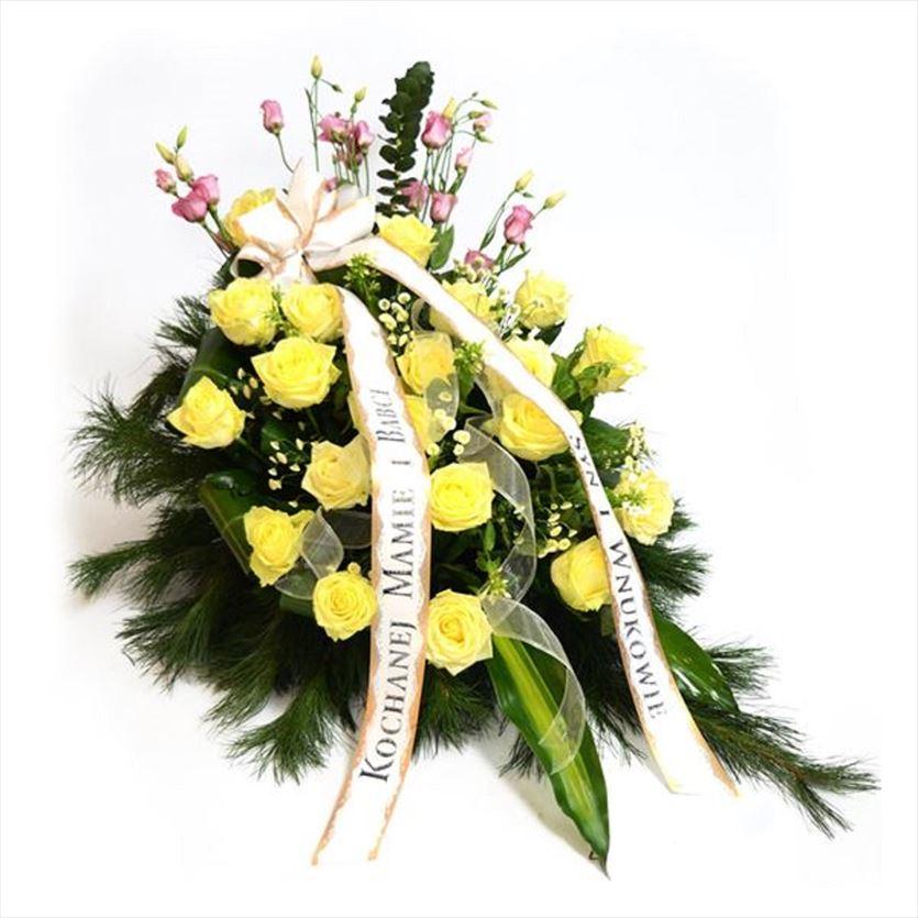 Wieńce, wiązanki i inne kwiaty pogrzebowe , Poppy Flowers, Biała Podlaska