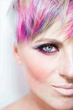 kolorowe włosy, Joanna Plasota Pracownia fryzur, Warszawa