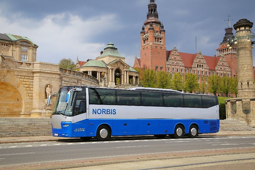 Krajowe i zagraniczne przewozy pasażerskie , Norbis Przewozy turystyczne, Szczecin