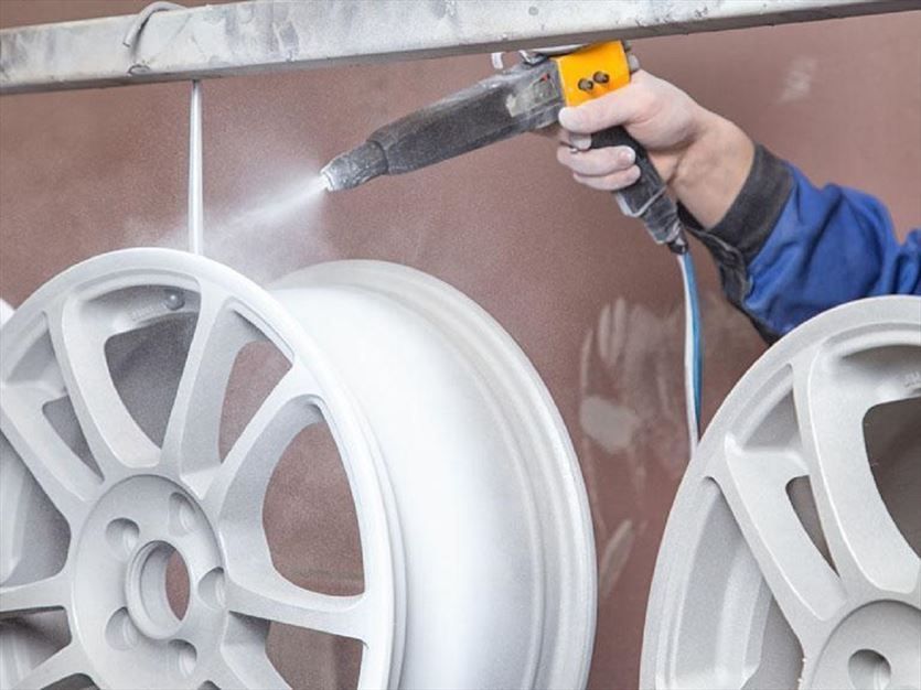 Malowanie proszkowe elementów stalowych i aluminiowych , Techni Kor s.c., Płochocin