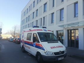 transport medyczny, Lukasmed Łukasz Chodakowski, Zielona Góra