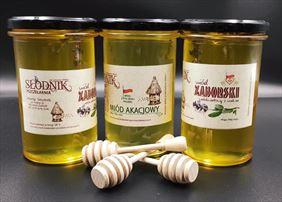 wyroby pszczele, Pszczelarnia Słodnik Marta Słodnik - Sprzedaż Produktów Naturalnych i Edukacja Ekologiczna, Zabór