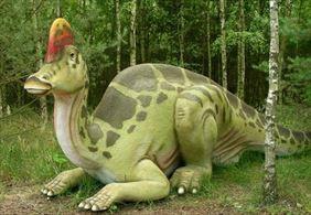 dinozaur na ścieżce edukacyjnej, Park Dinozaurów, Nowiny Wielkie
