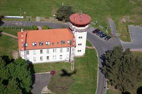 wieża kontroli lotów, Aeroklub Ziemi Lubuskiej, Zielona Góra