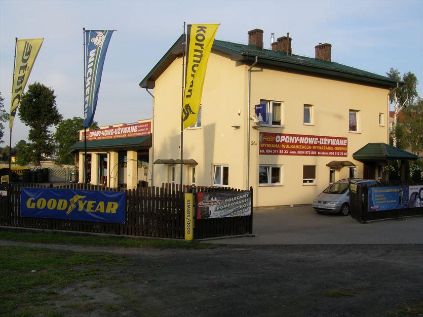 Sprzedaż, wymiana i naprawa opon, Max-Gum. Opony, autoserwis., Białogard