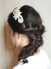 fryzura ślubna, Kleopatra Salon fryzjerski, Toruń