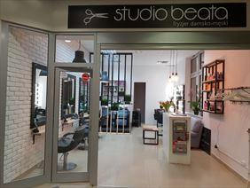 salon od zewnątrz, Studio Beata Marianna Bok, Warszawa