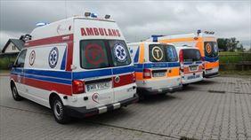 samochody transportu sanitarnego, Mazovia Medical Plus Spółka z Ograniczoną Odpowiedzialnością, Błonie