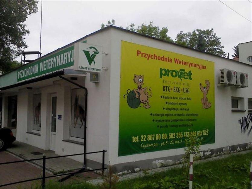 Kompleksowa profilaktyka i leczenie zwierząt, Provet s.c. Przychodnia weterynaryjna, Warszawa