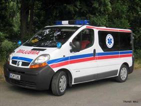 ambulans, Trans-Maj-Przewóz Osób Chorych, Grodzisk Mazowiecki