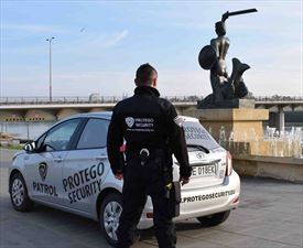 patrol interwencyjny, Protego Security Spółka z ogarniczoną odpowiedzalnością, Warszawa