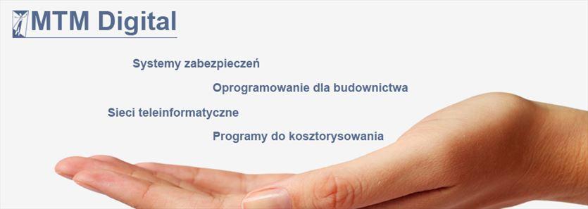Programy kosztorysowe i okablowanie strukturalne, Mtm Digital Mikołaj Brzeziński, Warszawa