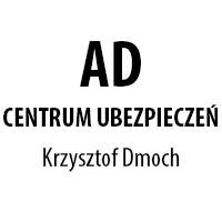 logo firmy, Ad Centrum Ubezpieczeń Krzysztof Dmoch, Leszno