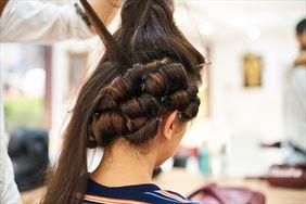 modelowanie fryzury, Magdalena Głowacka Salon Fryzjerski, Góra Kalwaria