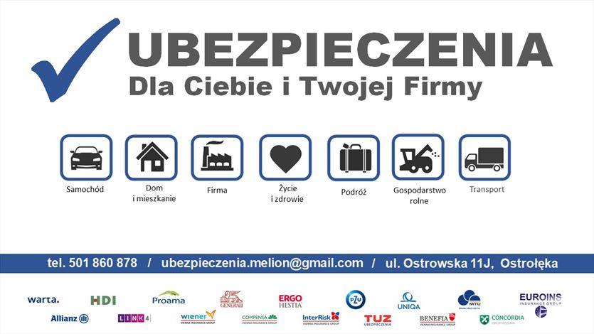 Ubezpieczenia zdrowotne i komunikacyjne , Ubezpieczenia Dla Ciebie I Twojej Firmy Dariusz Melion, Ostrołęka