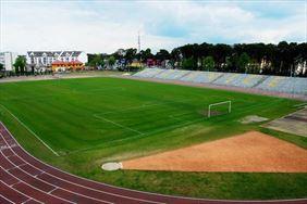stadion sportowy, Kozienickie Centrum Rekreacji i Sportu, Kozienice