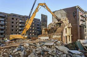 rozbiórka budynku, KM-Construction sp.z o.o. sp.k., Warszawa
