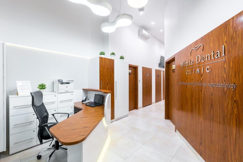 Dzięki nam będziecie onieśmielać uśmiechem, White Dental Clinic Przemysław Lutostański, Warszawa