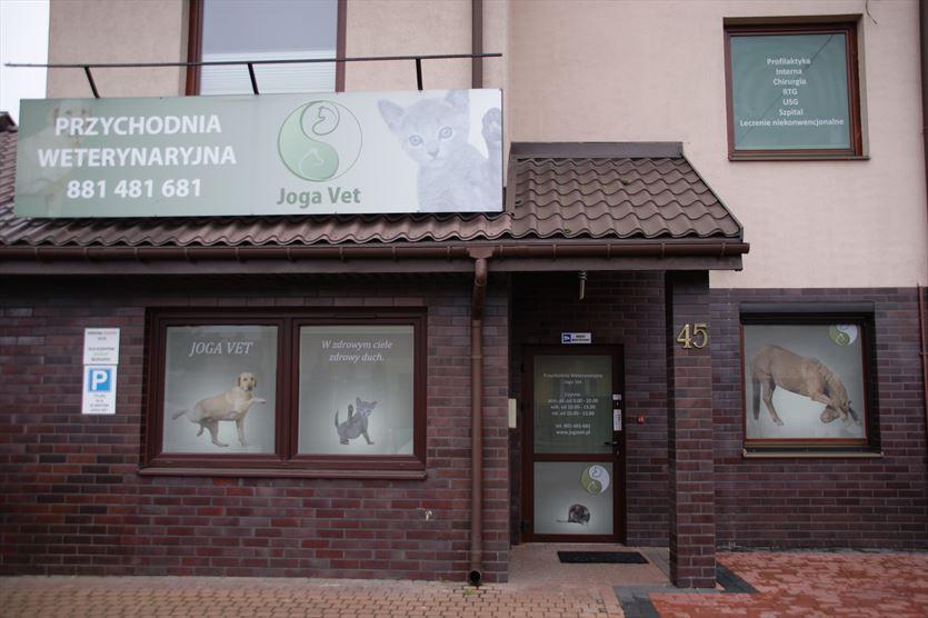 Usługi weterynaryjne i porady behawioralne, Joga Vet Przychodnia Weterynaryjna Dorota Wasylewska-Jakima, Warszawa
