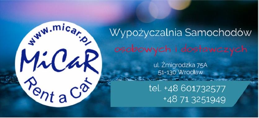 Korzystny wynajem aut – dostawczych, vanów, mikrobusów, mini busów, MiCaR Rent a Car, Wrocław