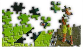 puzzle z nadrukiem, Sonia Aleksandra Walkowiak, Wrocław