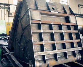 element sprzętu górniczego, Lenax. Konstrukcje stalowe maszyn i obiektów budowklanych, Wilków
