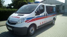 transport medyczny, Piotr-med transport medyczny i sanitarny, Chwalibożyce