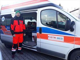 prywatny transport medyczny, Piotr-med transport medyczny i sanitarny, Chwalibożyce