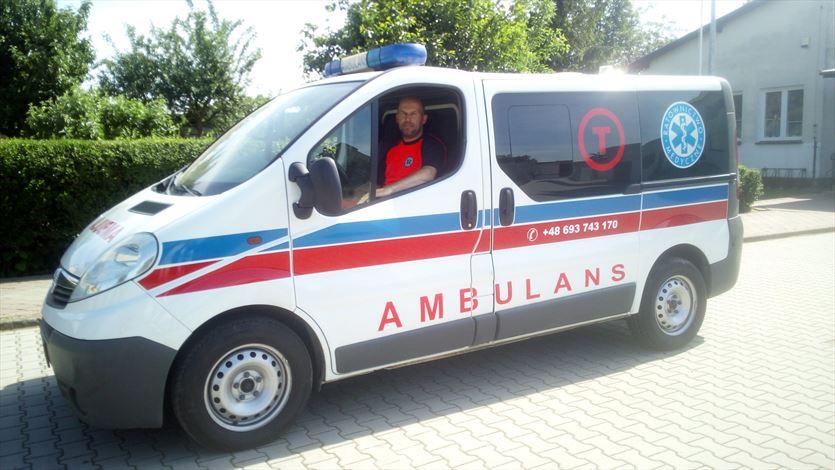 Bezpieczny transport do szpitala, przychodni, sanatorium, Piotr-med transport medyczny i sanitarny, Chwalibożyce