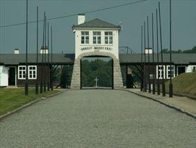brama główna, Gross-Rosen. Muzeum w Rogoźnicy, Rogoźnica