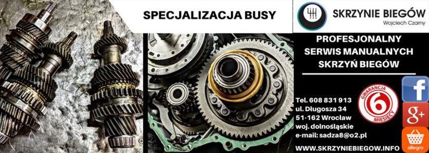Regeneracja manualnych skrzyń biegów wszystkich producentów, Czarny - Skrzynie Biegów, Wrocław